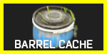 Buried Barrel Cache Container Icon