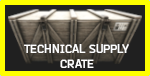 Technical Supply Crate Icon